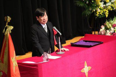 【学長告辞】加藤 直人 日本大学副学長文理学部長